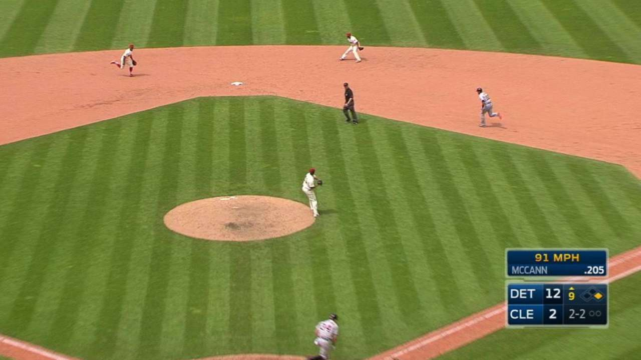 Indians turn two in the 9th