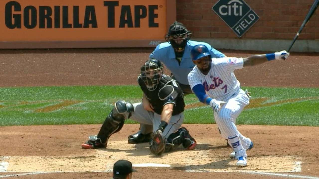 Reyes' two-hit performance