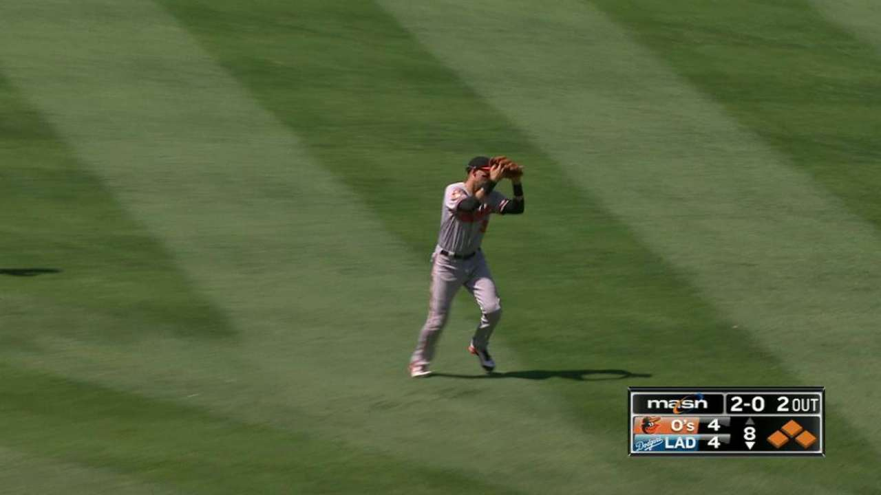 Brach escapes trouble in the 8th