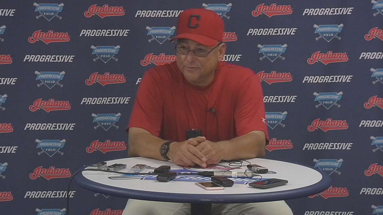 Indians not sweating 1st loss of '16 to Tigers