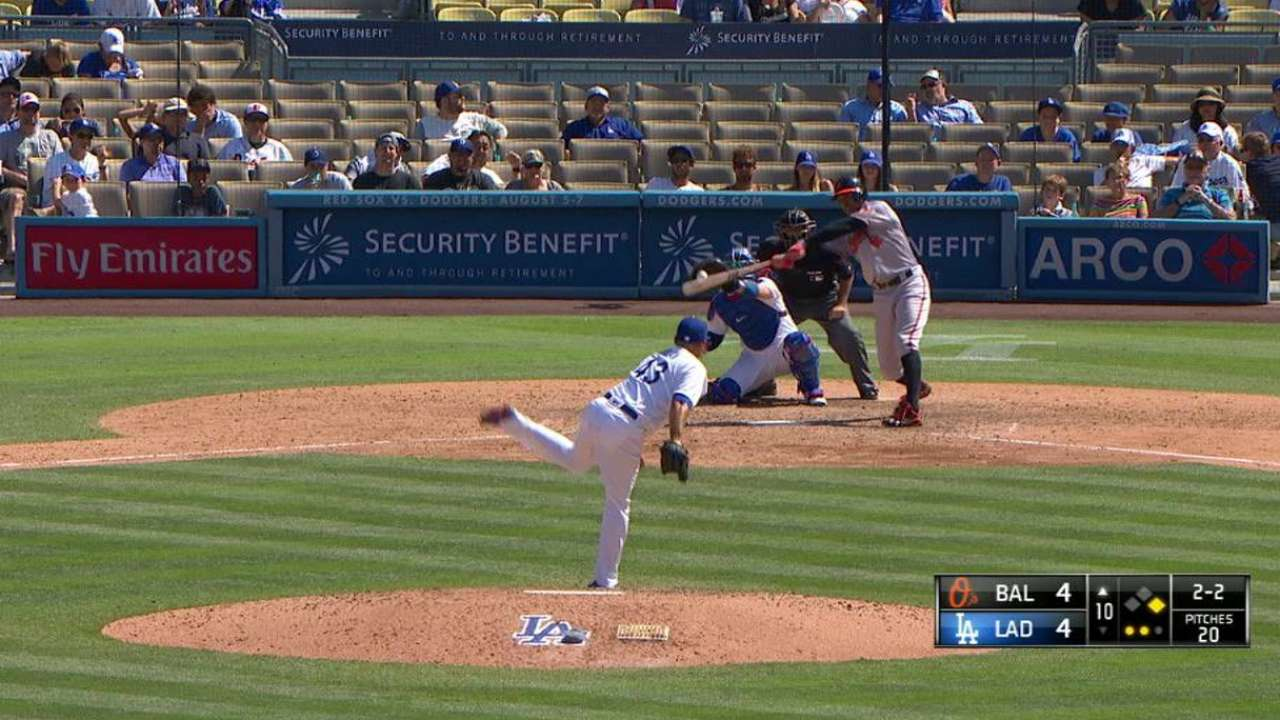 Avilan, Coleman among first Dodgers callups