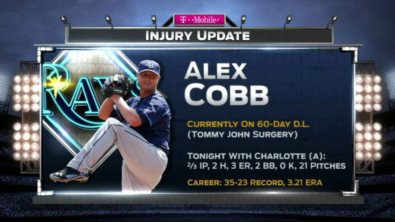Cobb's return to action