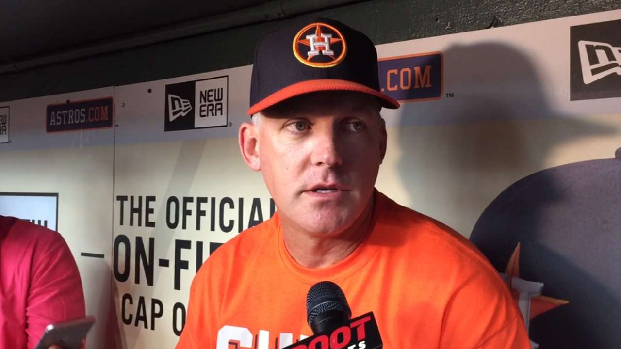 Astros campaign for Springer