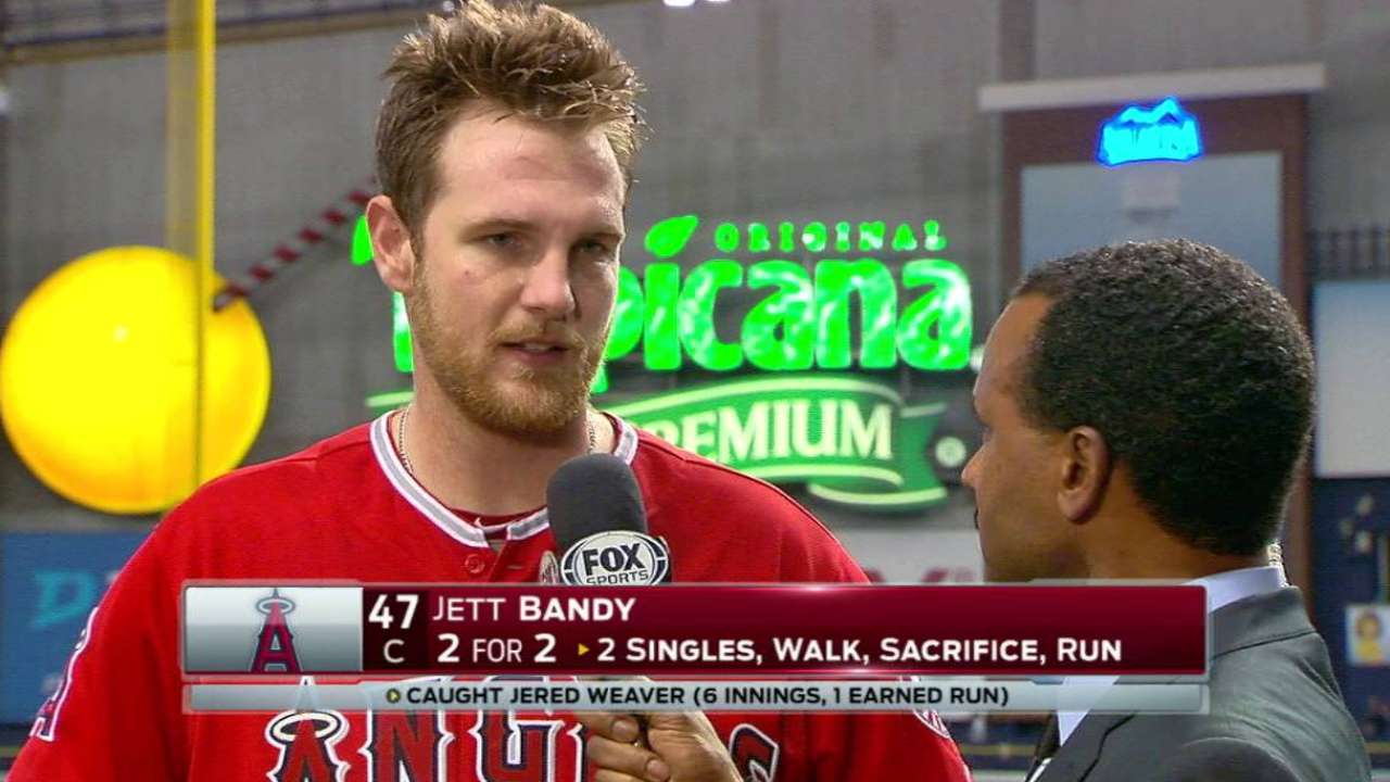 Bandy on catching Weaver in win