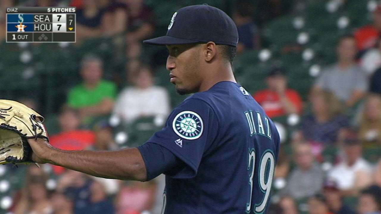 Diaz sets a Mariners record