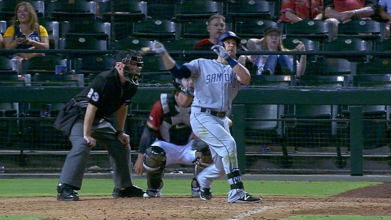 Schimpf's two homers