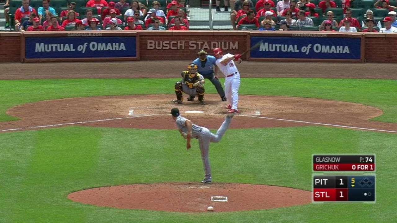 Grichuk's solo home run