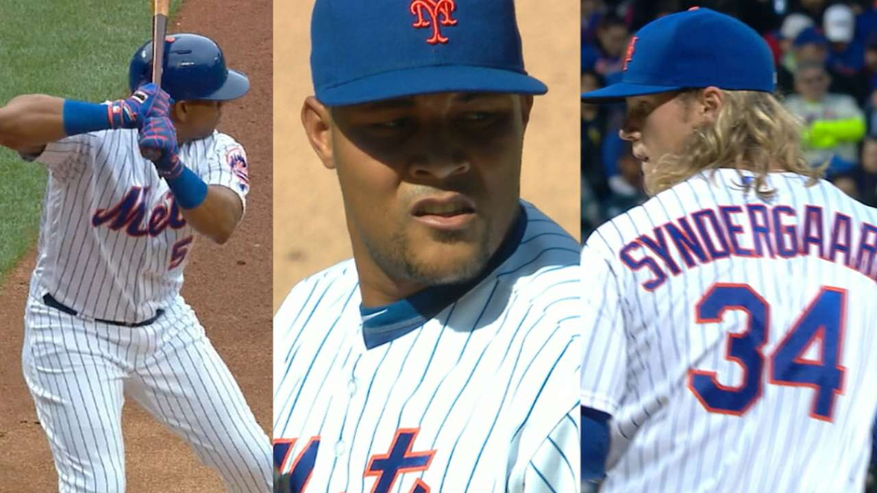 Mets' four All-Stars