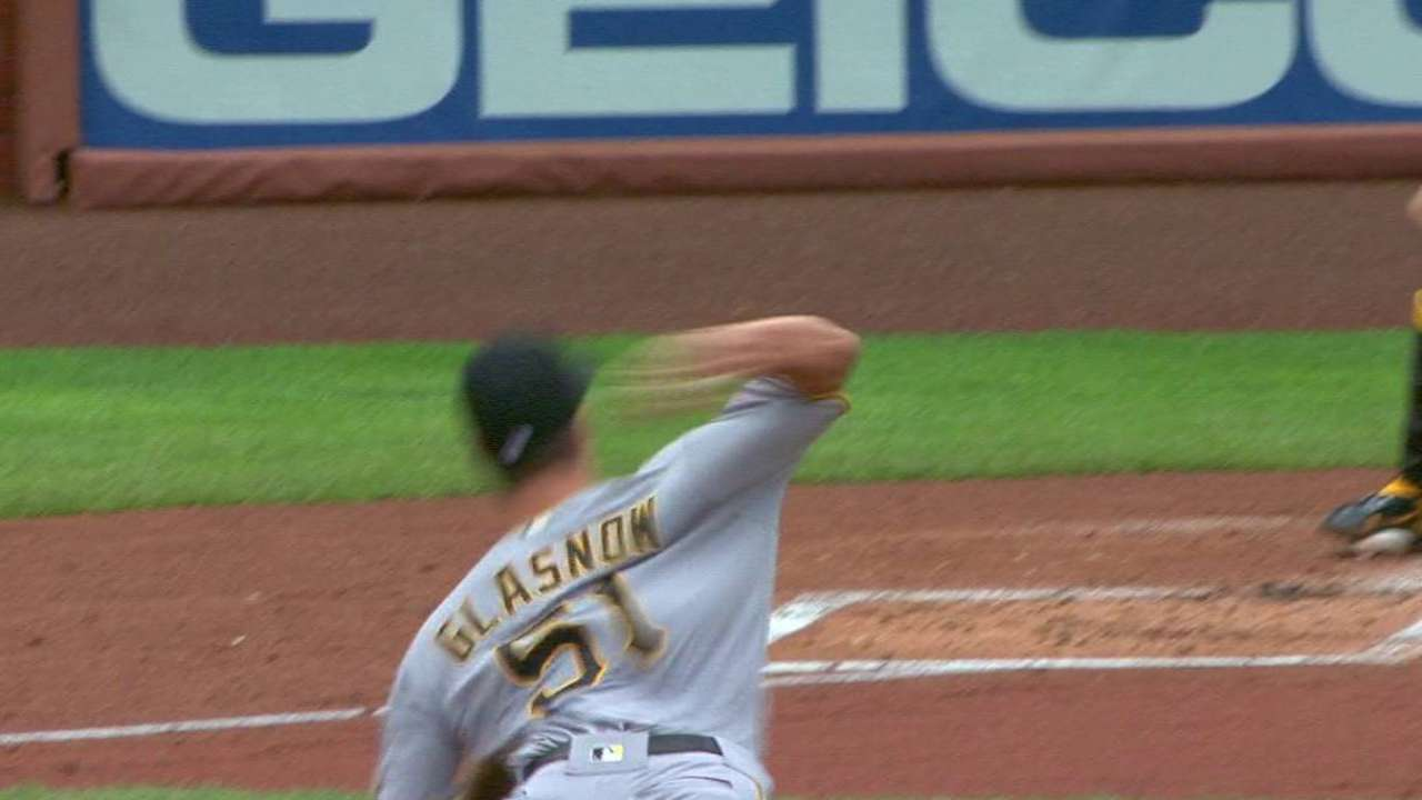 Glasnow's first career strikeout