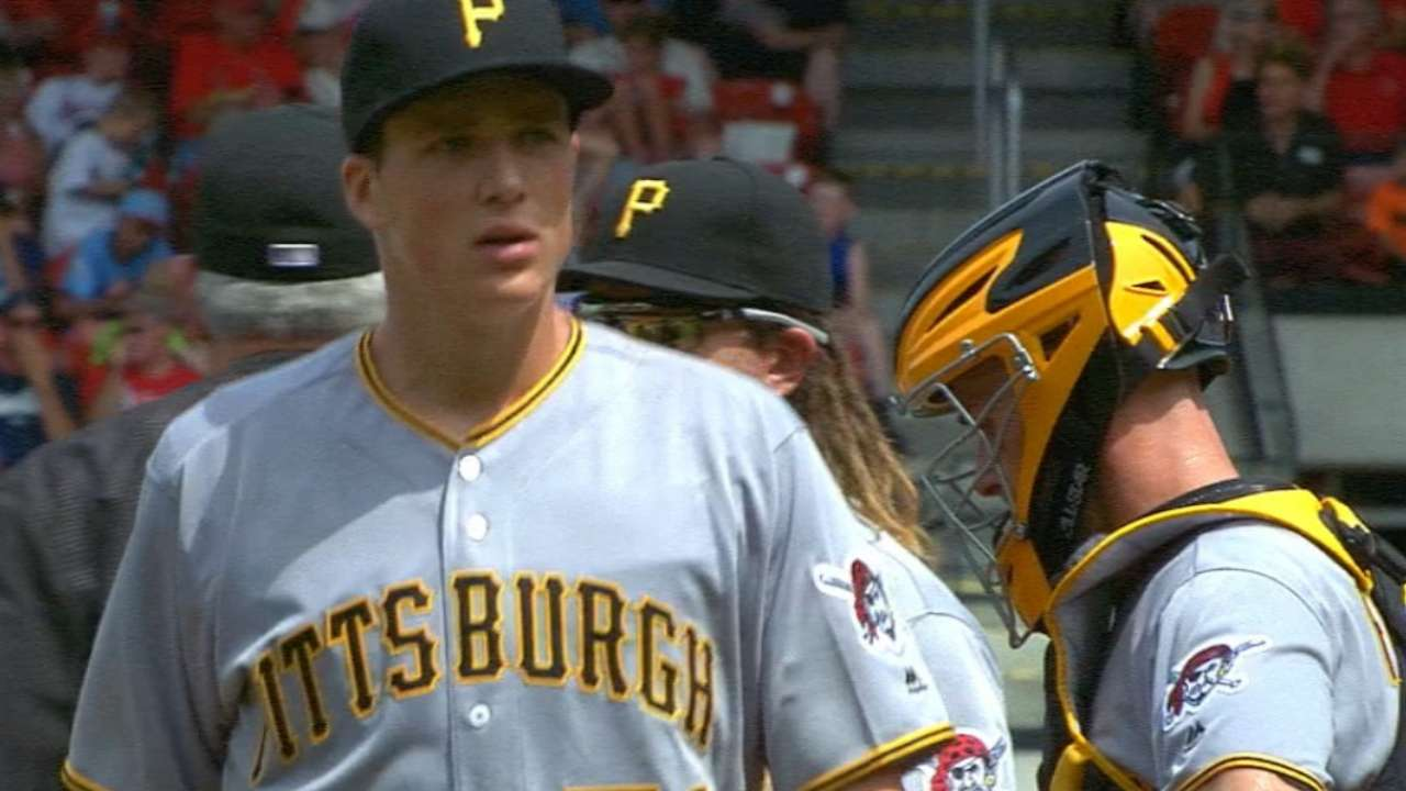 Glasnow's Major League debut