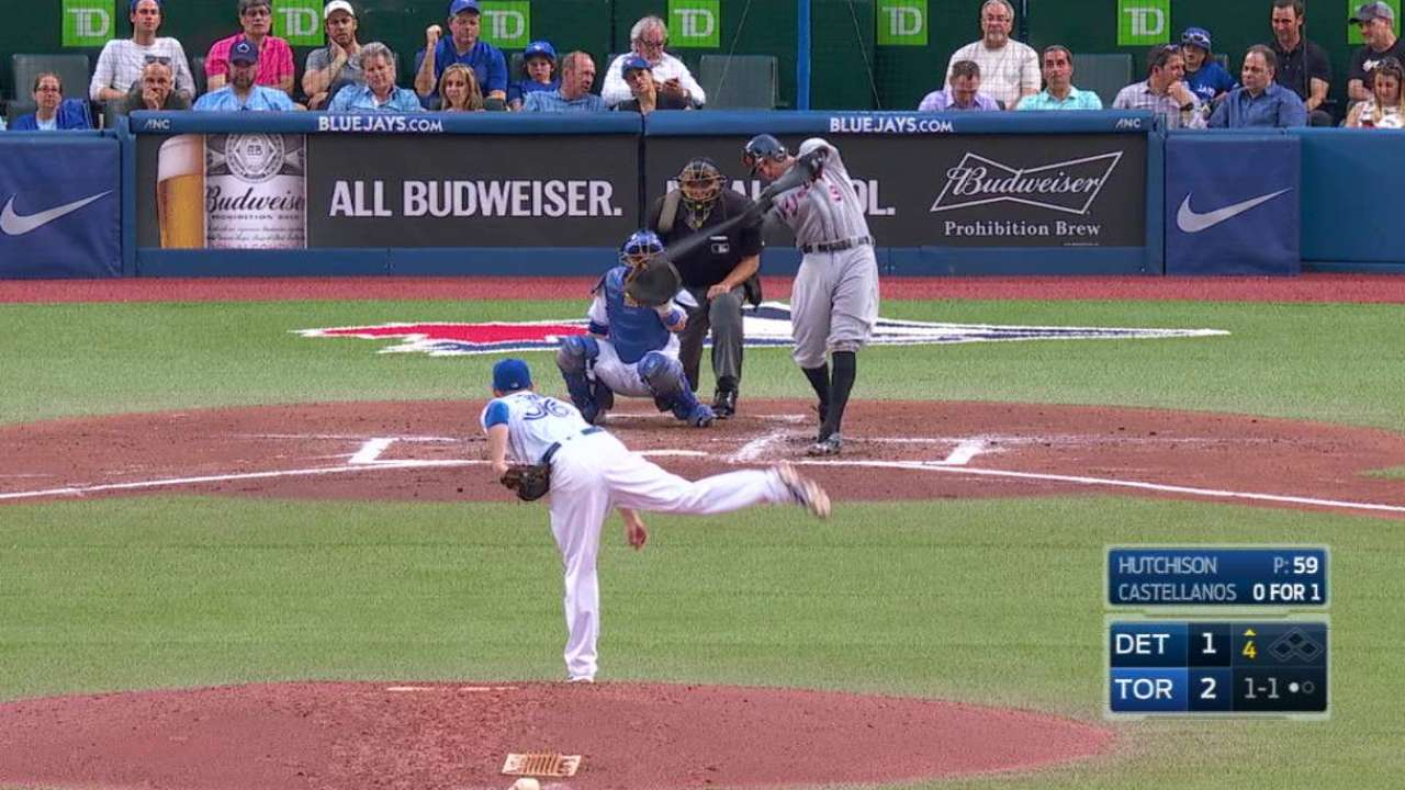 Castellanos' solo home run