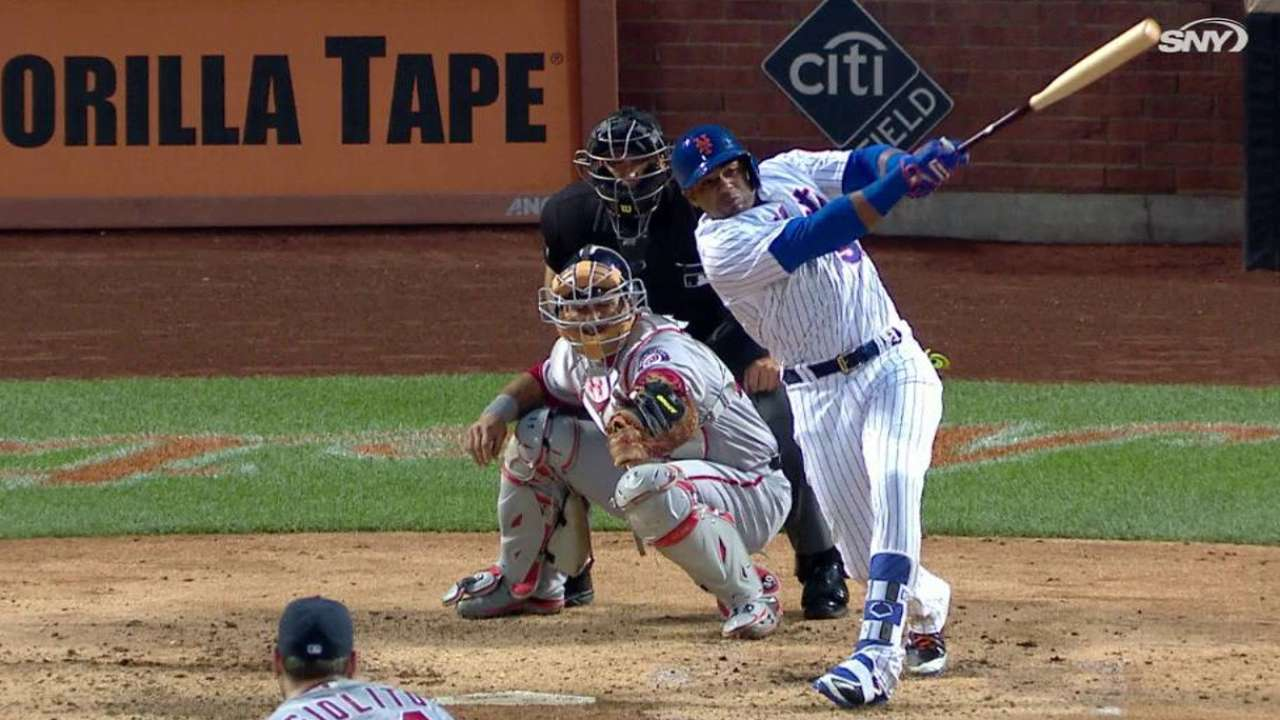 Cespedes' RBI double in the 4th