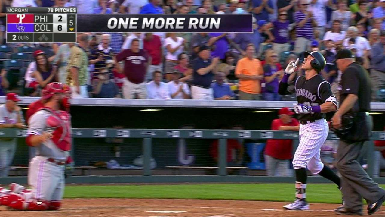 Story's second homer of the game