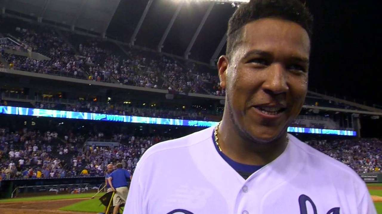 Salvy: 'Just doing my job' in walk-off win