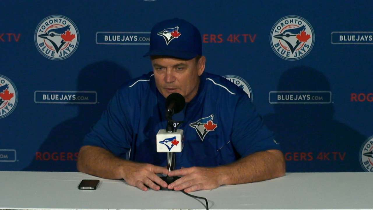 Blue Jays spend most of night stranded