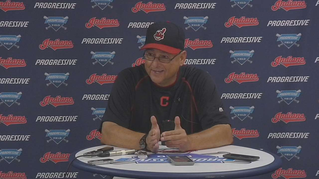 Francona on Indians' 5-4 loss