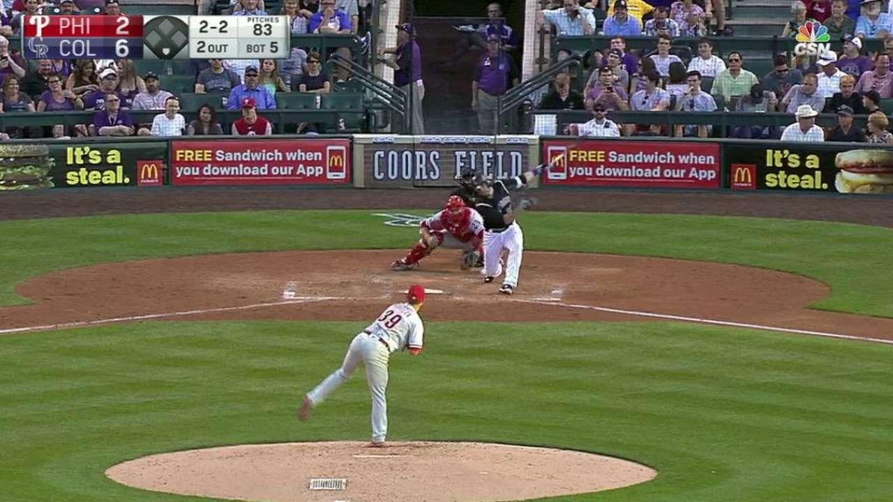 Morgan's fourth strikeout