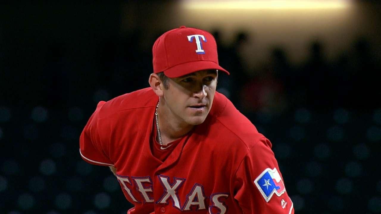 Hoying's inning on the mound