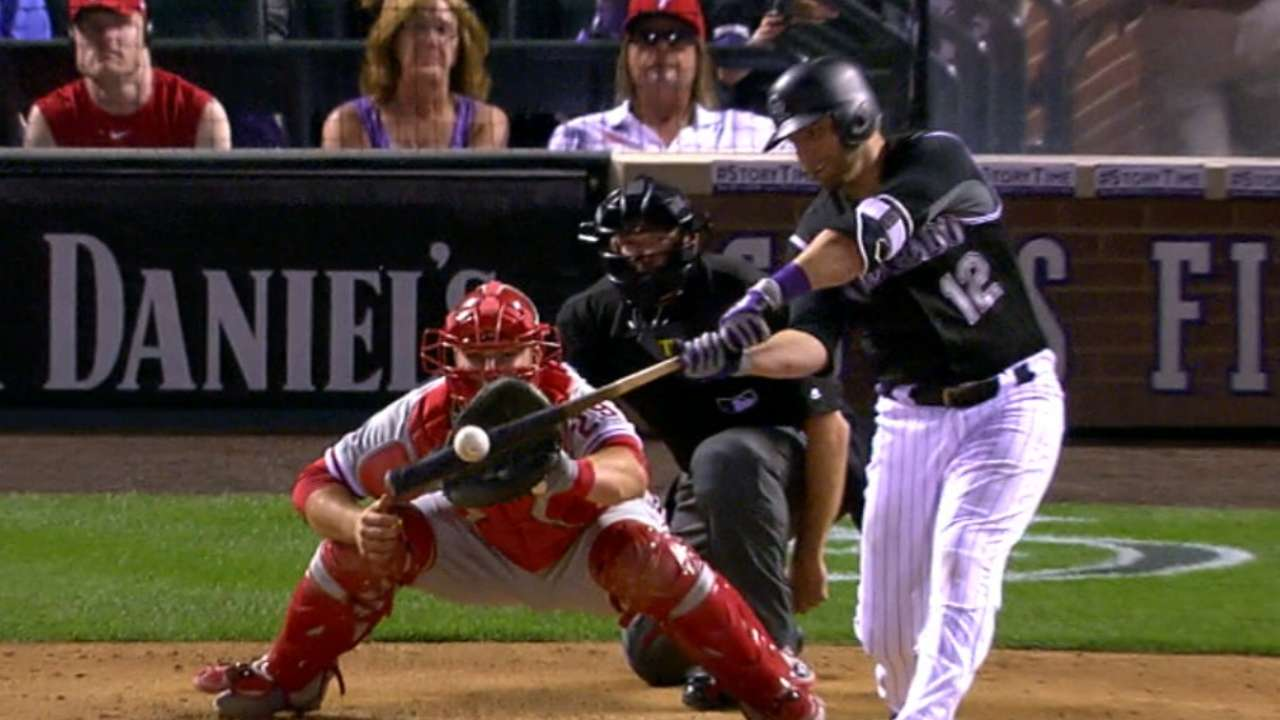 Rockies plate five in the 7th