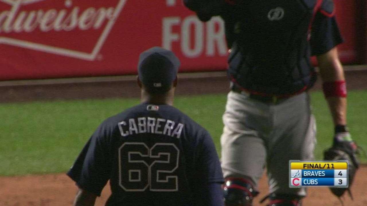 Cabrera locks down the victory