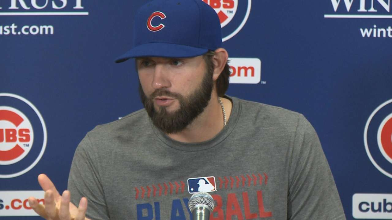 Hammel on leaving in the 6th