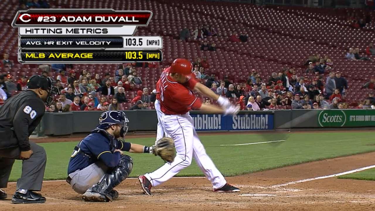 Duvall's red-hot power