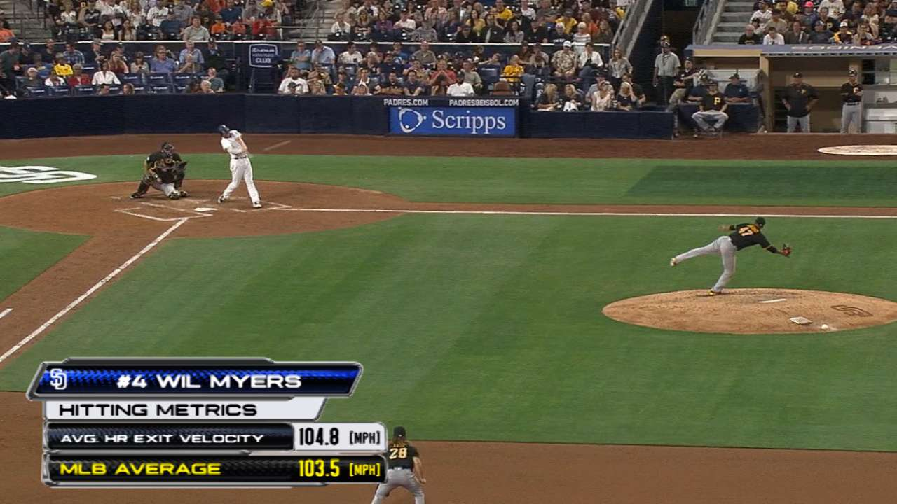 Myers fulfills power potential
