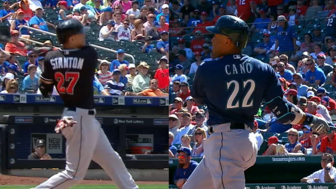 Cano vs. Stanton in HR Derby