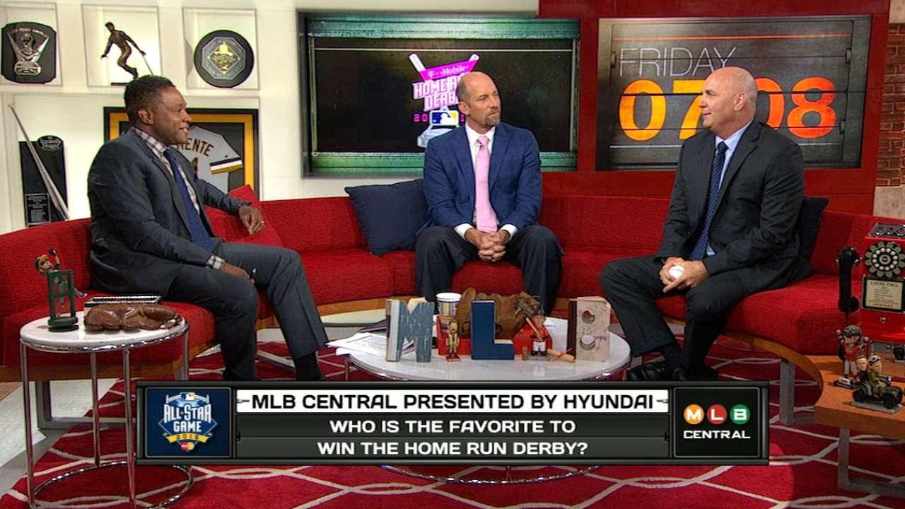 2016 Home Run Derby favorites