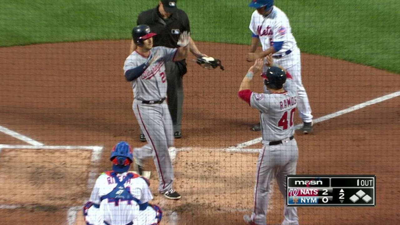 Robinson's two-run homer