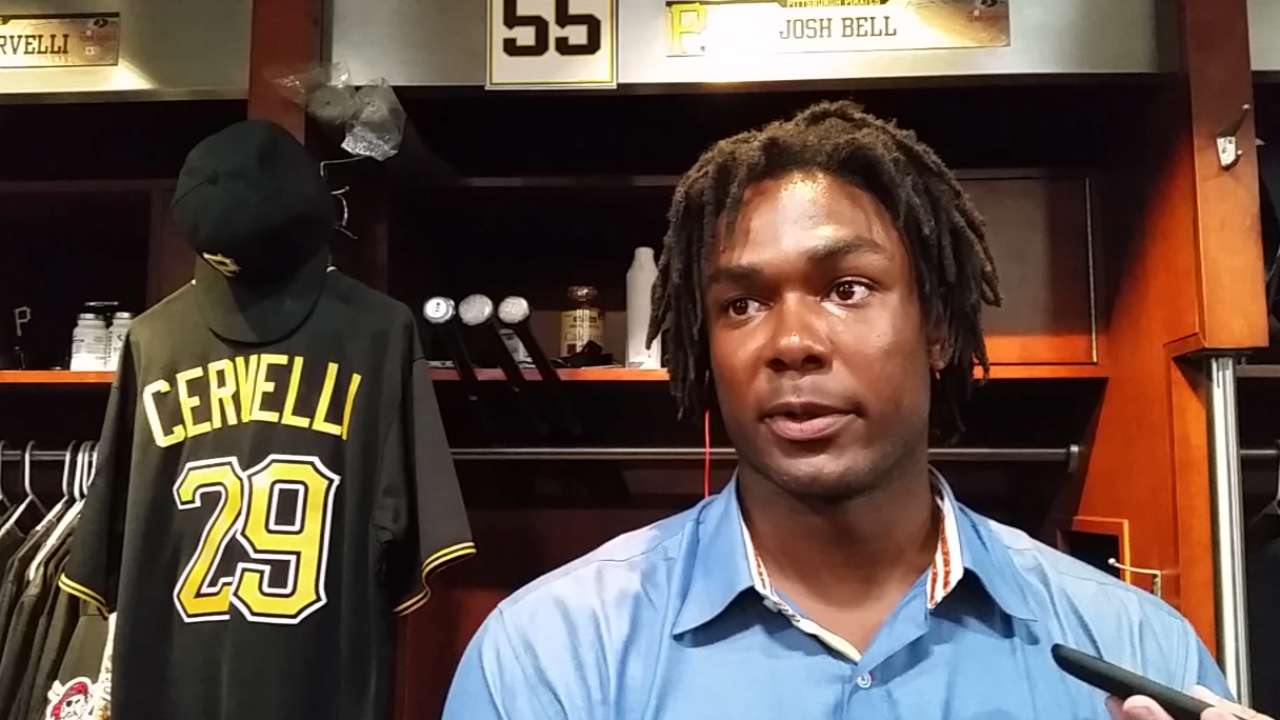 Bell talks about his callup