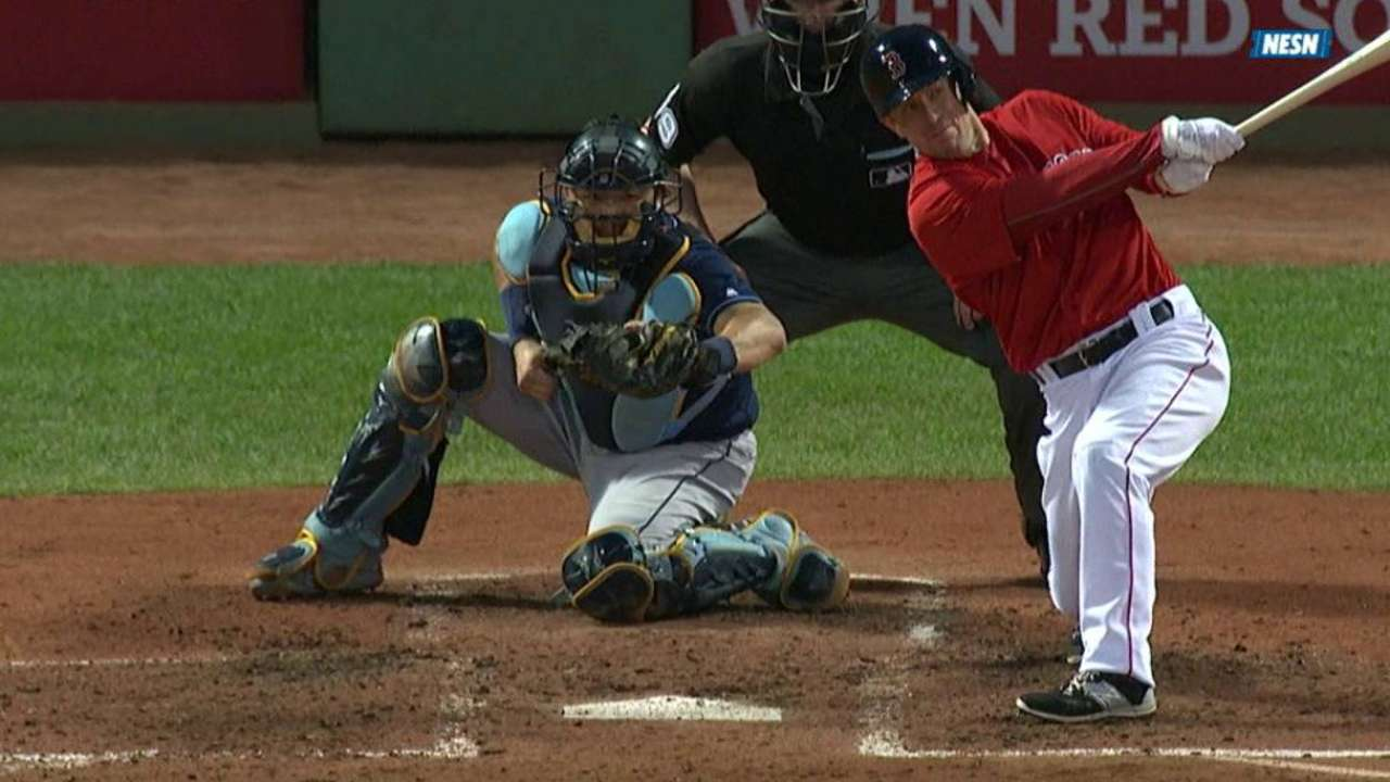 Hill immediately contributes in Red Sox debut