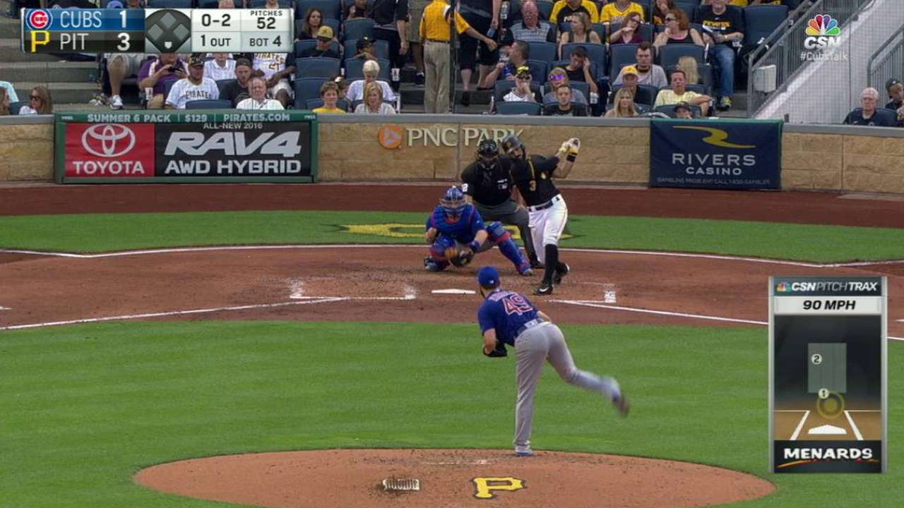 Leadoff walk in 7th proves costly for Arrieta