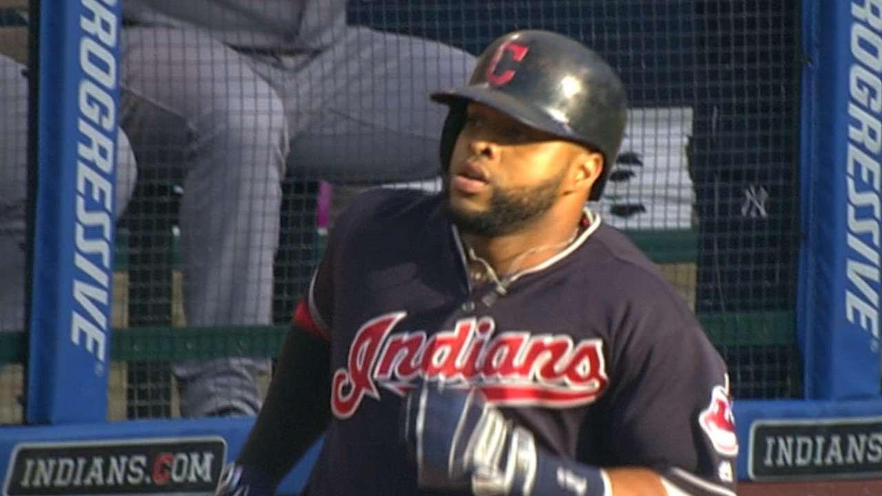 Cleveland rocks Yanks in 5-homer win