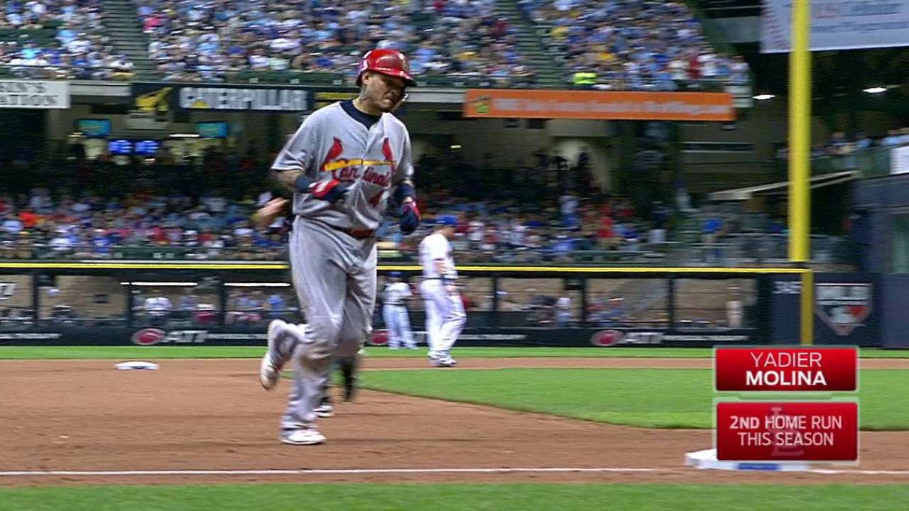 Molina's game-tying home run