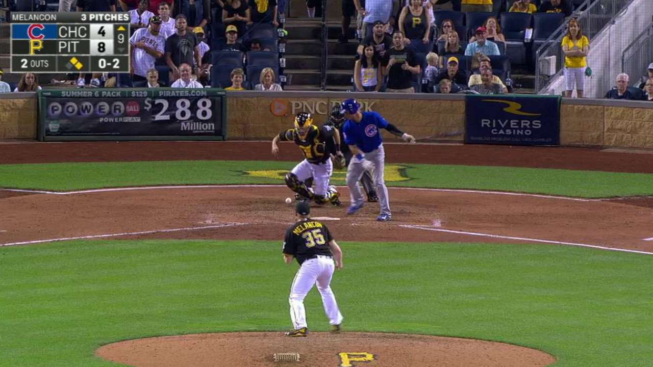 Melancon closes out the 9th