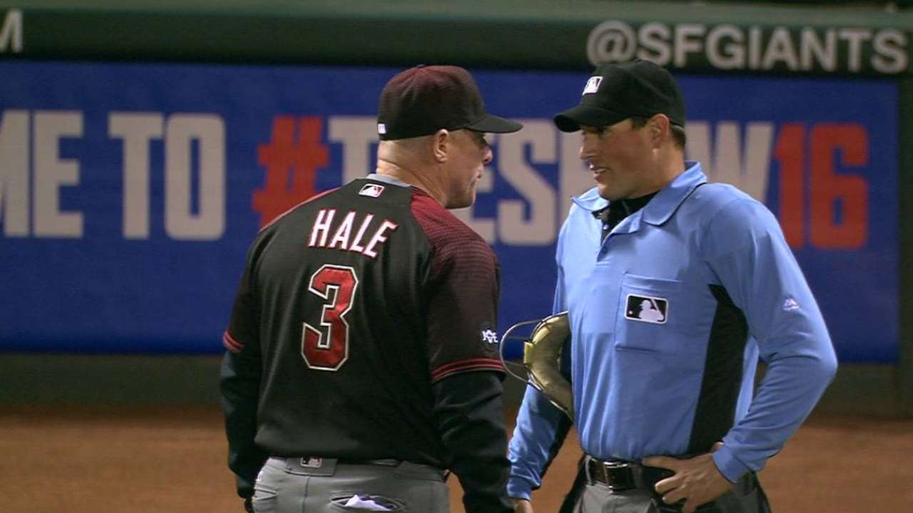 Hale gets ejected