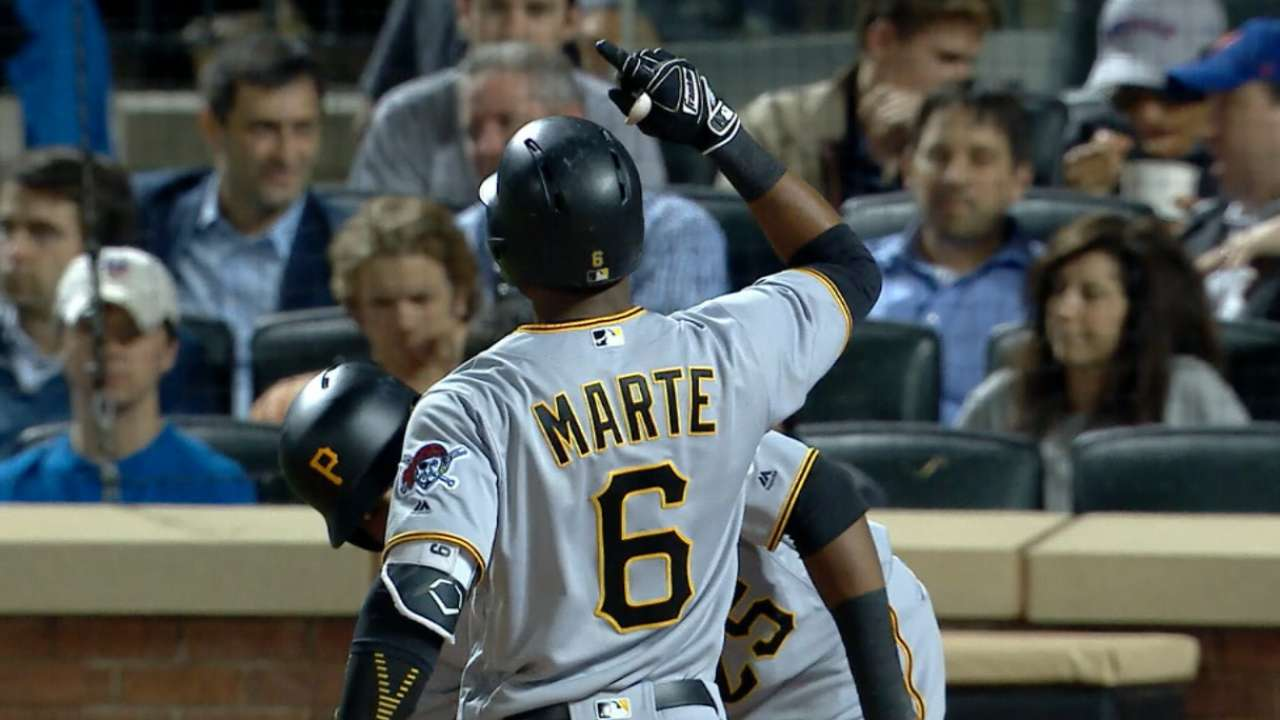 Marte an All-Star after all: OF added to NL team