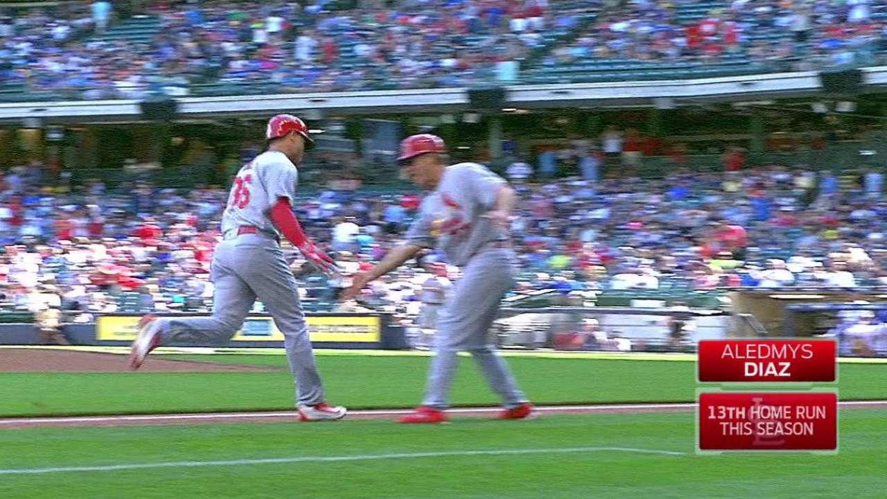 Diaz's three-run home run
