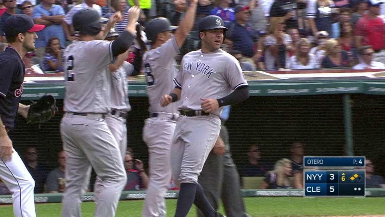 Gardner's bases-clearing triple