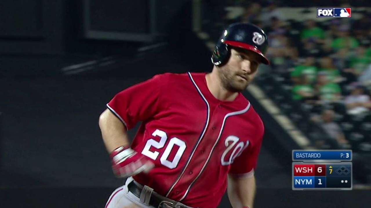 Murphy, Scherzer torment Mets as Nationals roll