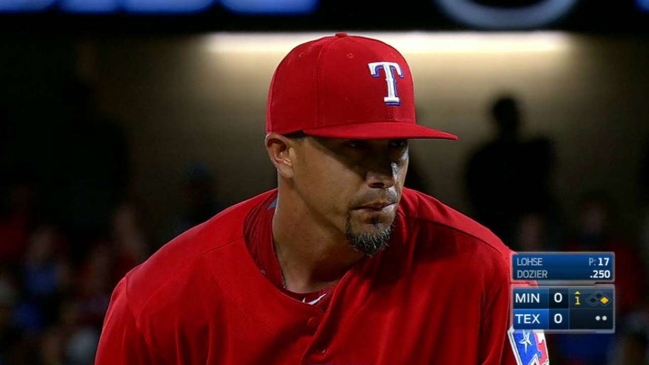 Rangers designate Lohse for assignment