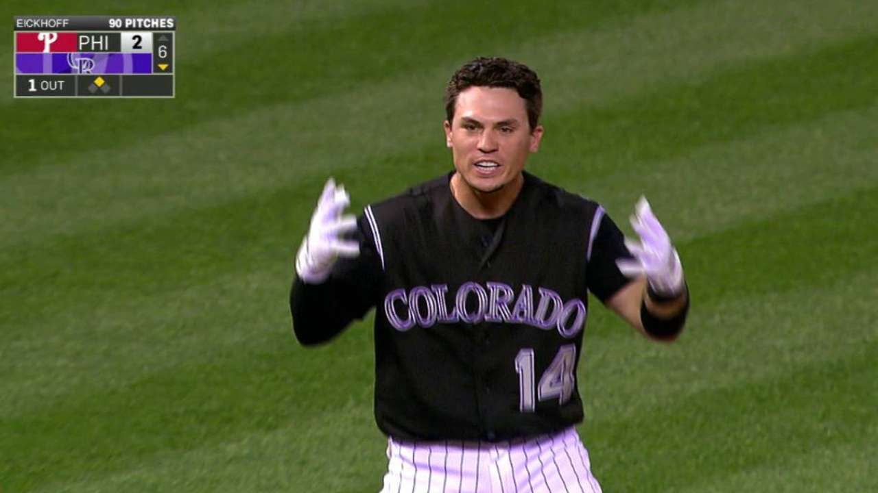 Wolters' bases-clearing triple