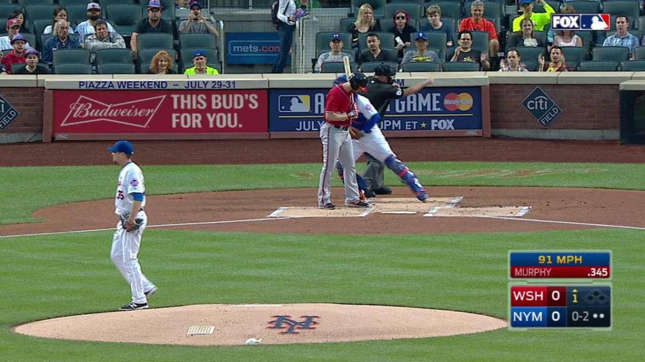 Verrett strikes out Murphy