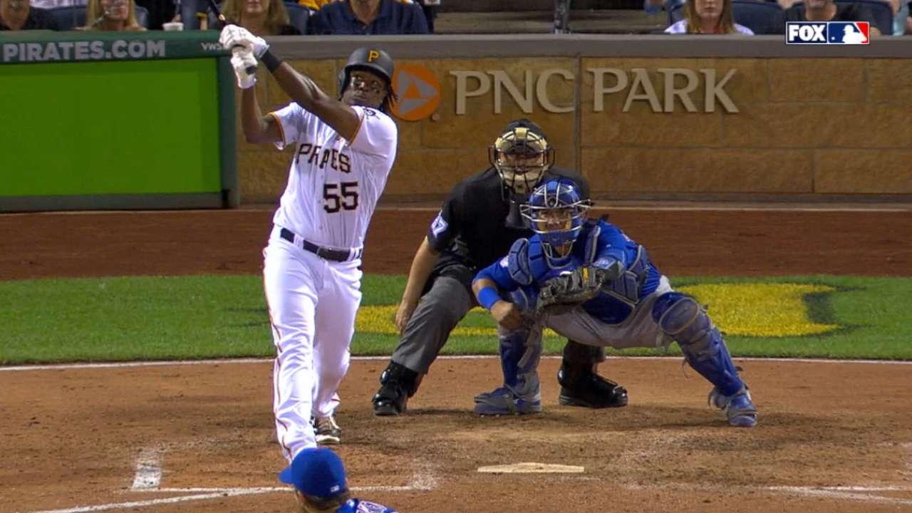Pirates tally four home runs