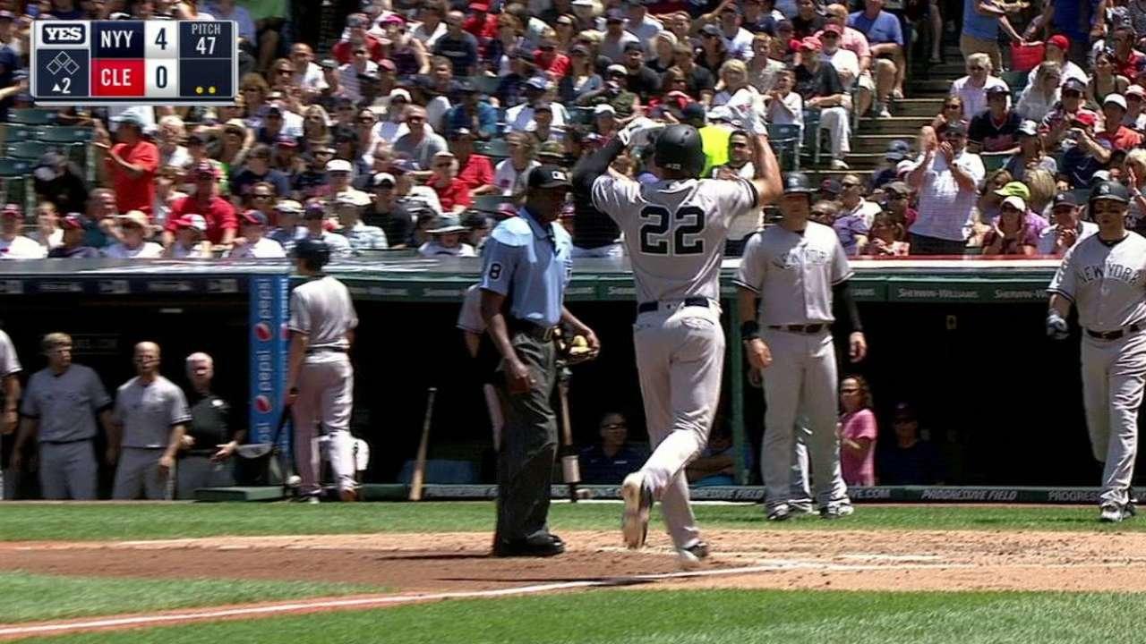 Ellsbury's three-run home run