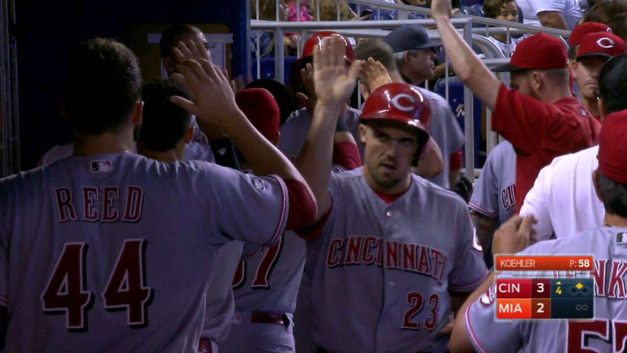 Phillips' two-run double