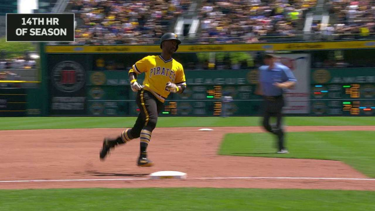McCutchen hitting stride in sync with Pirates