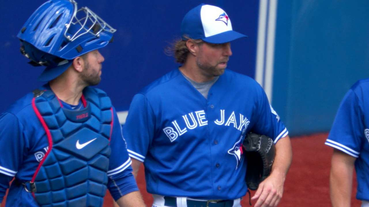 Dickey's strong home start