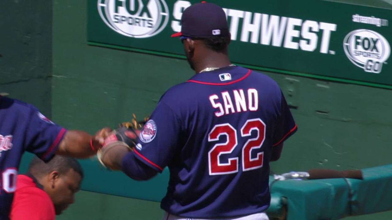 Sano's smooth double play